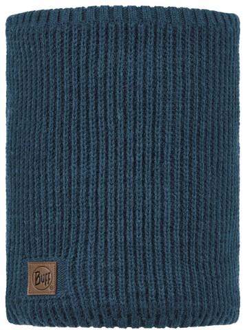 Вязаный шарф-труба с флисом Buff Neckwarmer Knitted Polar Rutger Steelblue фото 1