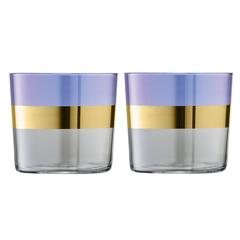 Набор из 2 стаканов Bangle, 310 мл, фиолетовый, фото 1