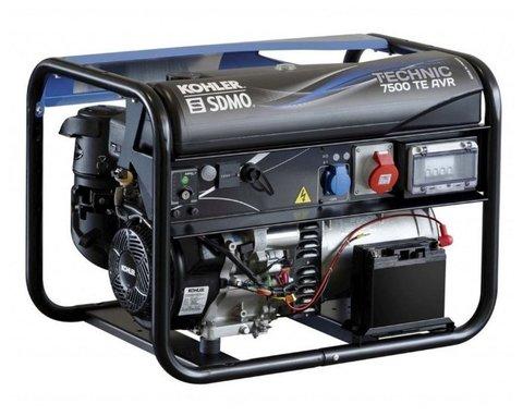 Кожух для бензиновой электростанции SDMO Technic 7500 TE AVR M