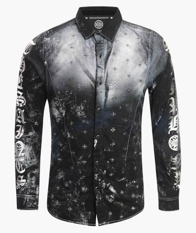 THE SAINTS SINPHONY рубашка BULLETPROOF BUTTON UP