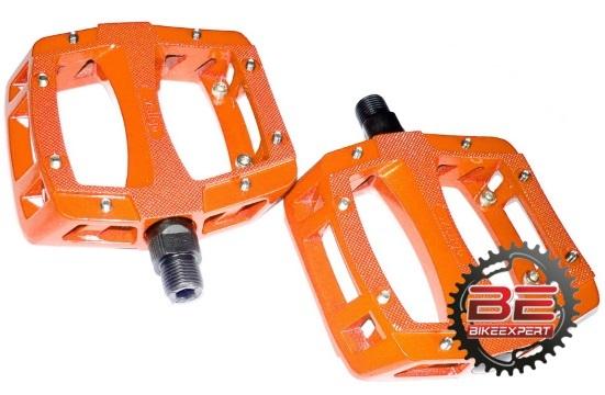 Педали Wellgo LU-A52A оранжевые