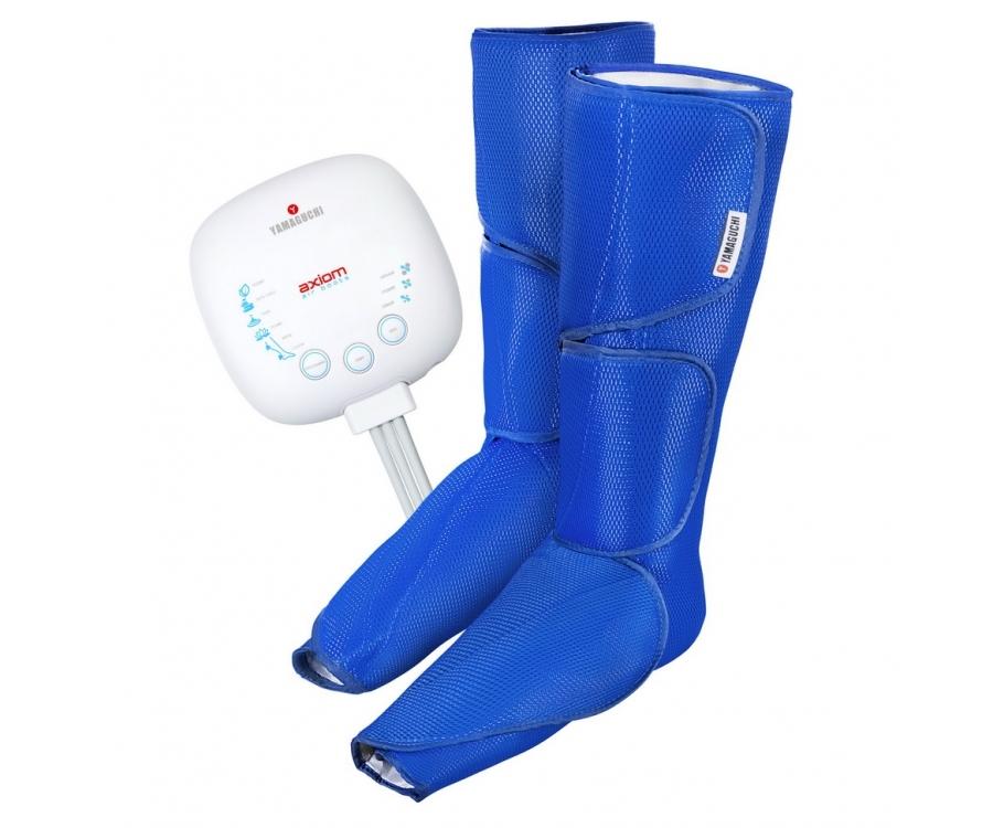 Массажеры для ног Лимфодренажный аппарат для прессотерапии Yamaguchi Axiom Air Boots boots-blue_xl.jpg