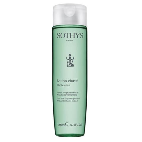 Sothys Beauty Lotions: Лосьон-тоник для кожи лица с хрупкими капиллярами с экстрактом гамамелиса (Clarity Lotion)