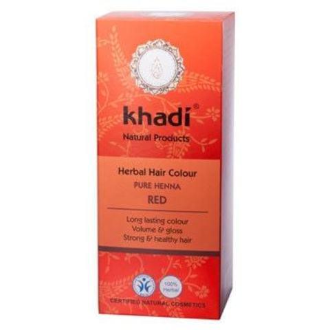 Хна для волос красная Khadi Naturprodukte, 100 гр