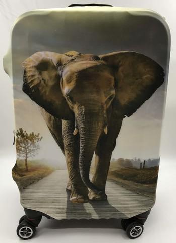 Чехол для чемодана - Слон