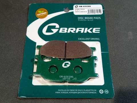 Тормозные колодки G-brake Yamaha XVS XJR XV FZ6 YP GM-02039