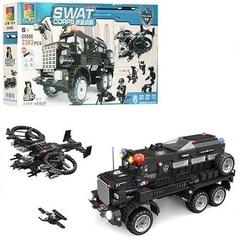 Конструктор Полиция SWAT Техника спецназа