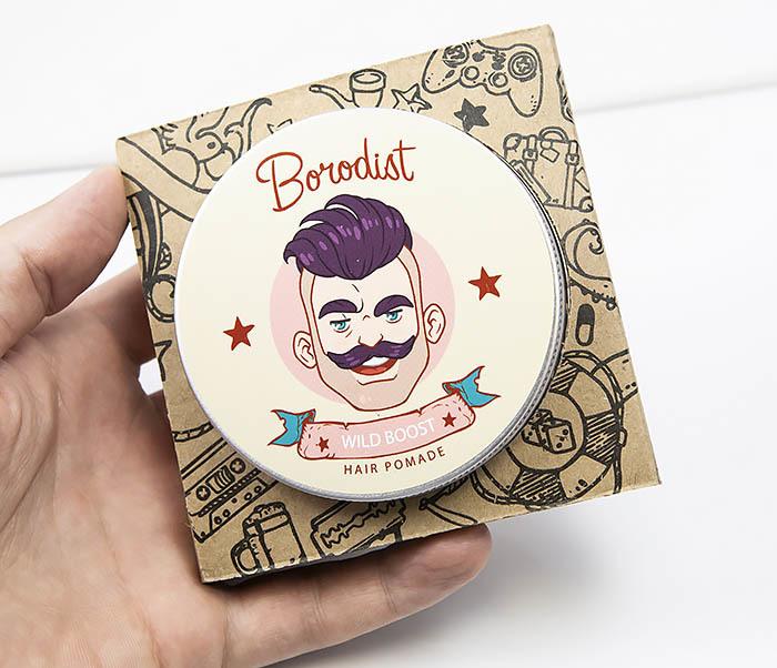 CARE114 Прозрачная помада для волос «WILD BOOST» от Borodist фото 03