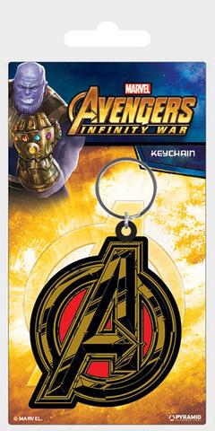 Брелок силиконовый Мстители (Лого)