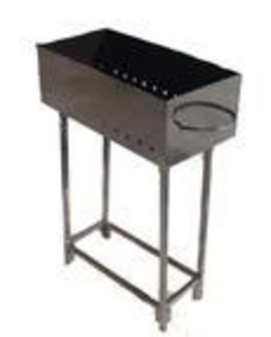 Мангал металлический 300*150*500