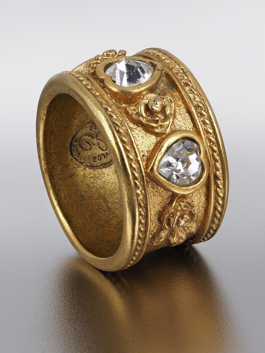 Стильное кольцо Elizabeth Taylor for Avon 1995 г.