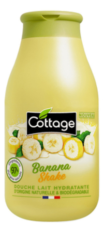 Увлажняющее молочко для душа Moisturizing Shower Milk Banana Shake 250мл