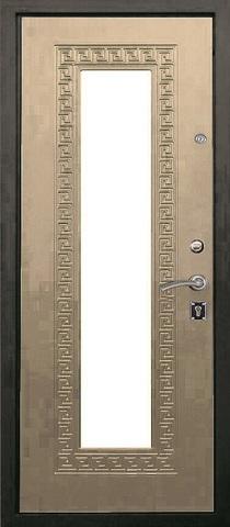 Дверь входная L-1 стальная, дуб седой, 2 замка, фабрика Арсенал