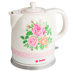Чайник электрический 1,5л DELTA DL-1328