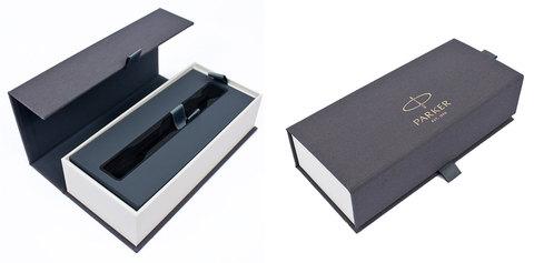 Шариковая ручка Parker Sonnet Slim Matte Black CT123