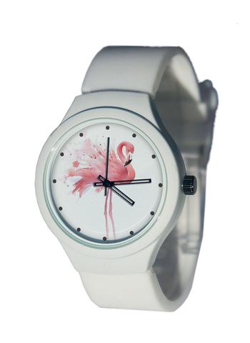 Часы наручные Фламинго 2 белые