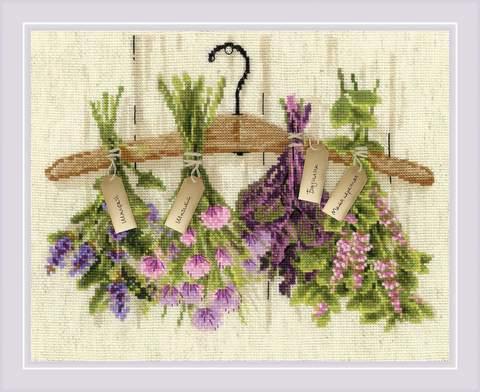 Набор для вышивания крестом «Пряные травы» (1717)
