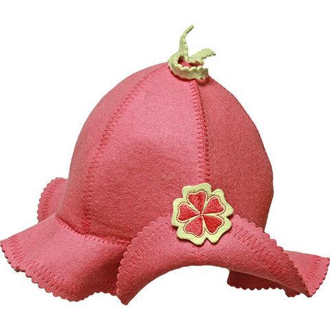 Шапка розовая