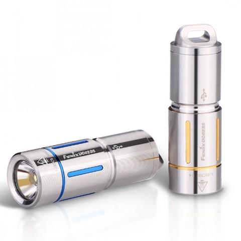 Карманный фонарь Fenix UC02SS (синий, золотой)
