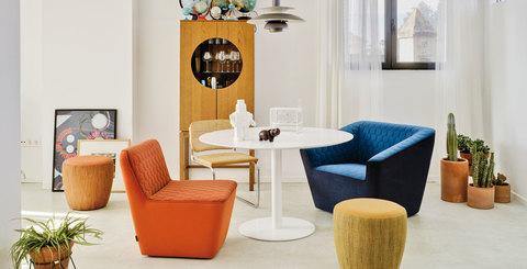 Кресло Tea с полокотниками