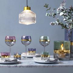 Набор из 2 стаканов Bangle, 310 мл, фиолетовый, фото 2