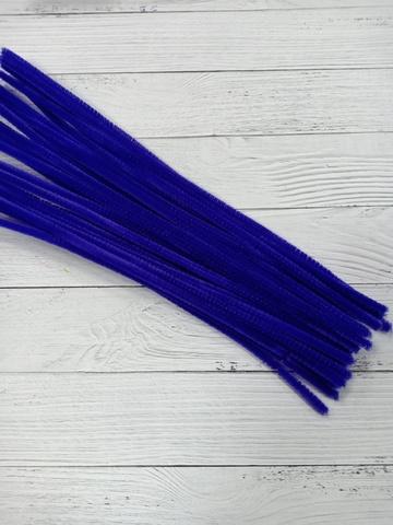 Проволока синельная, цвет темно фиолетовый , размер 30 см, 30 шт