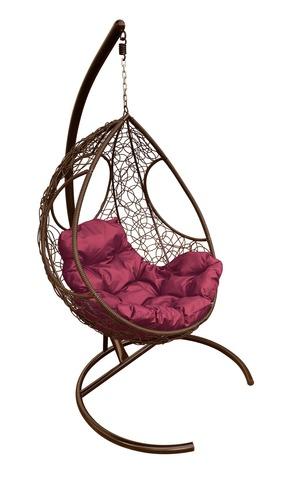 Кресло подвесное Ferrol brown/burgundy