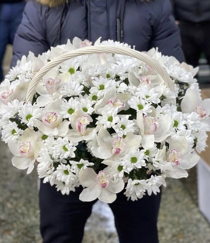 Цветы в корзинке #56445