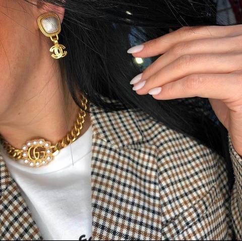 Клипсы Chanel