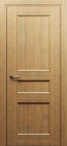Дверь Краснодеревщик 3043, цвет орех бискотто, глухая