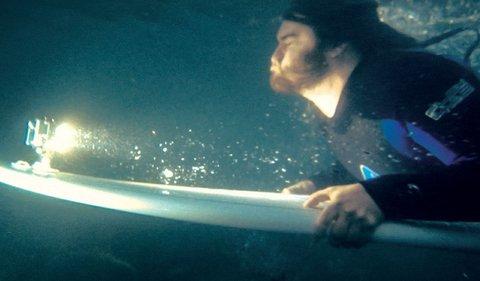 Фонарик Knog - (Qudos action light. Silver )