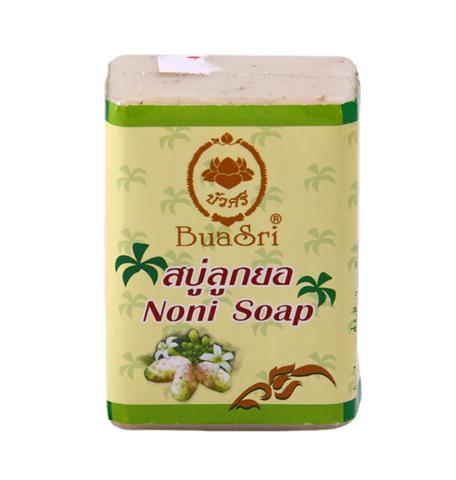 Натуральное мыло на основе сока нони BuaSri Noni Soap, 90 гр.
