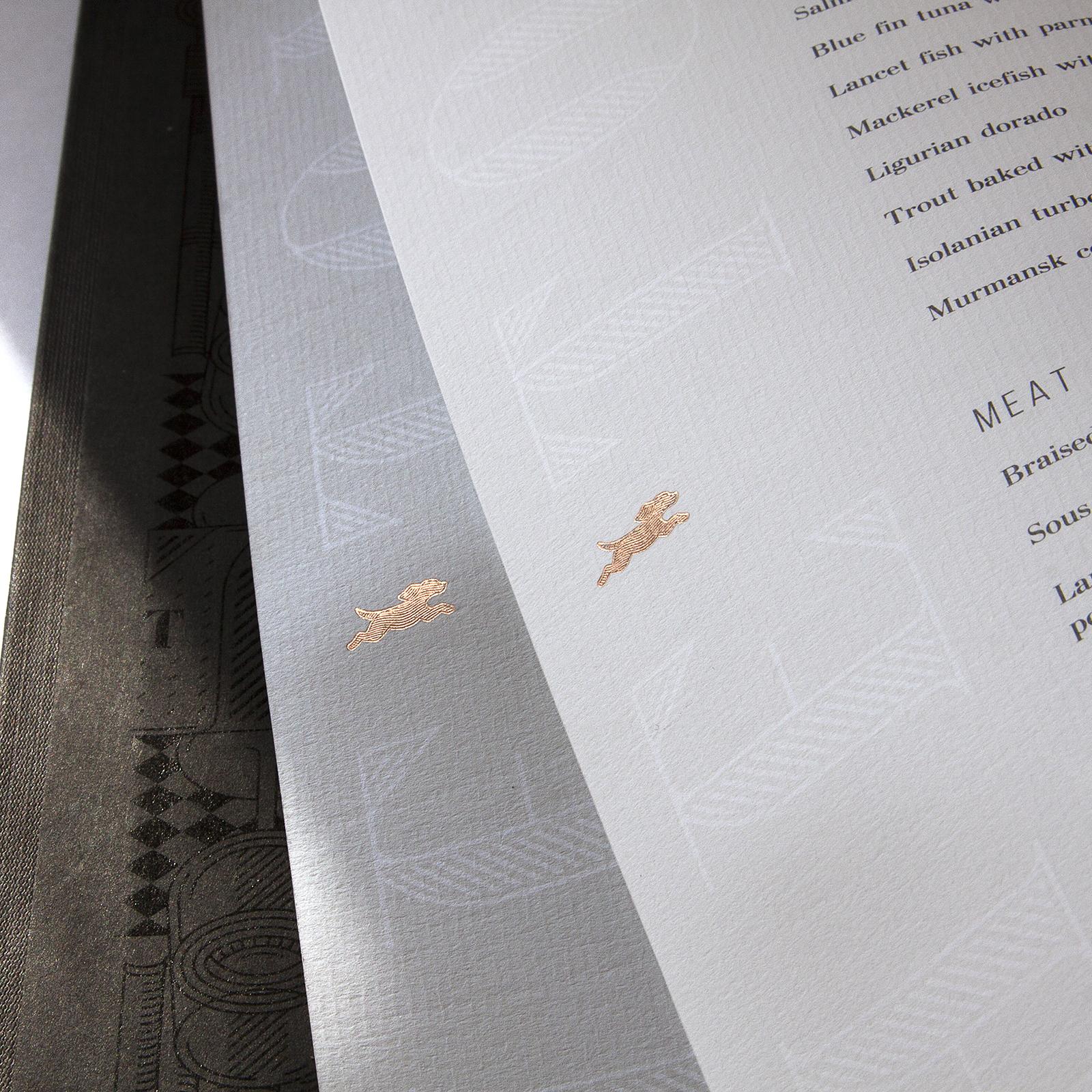 The Toy папка меню и комплекс полиграфии