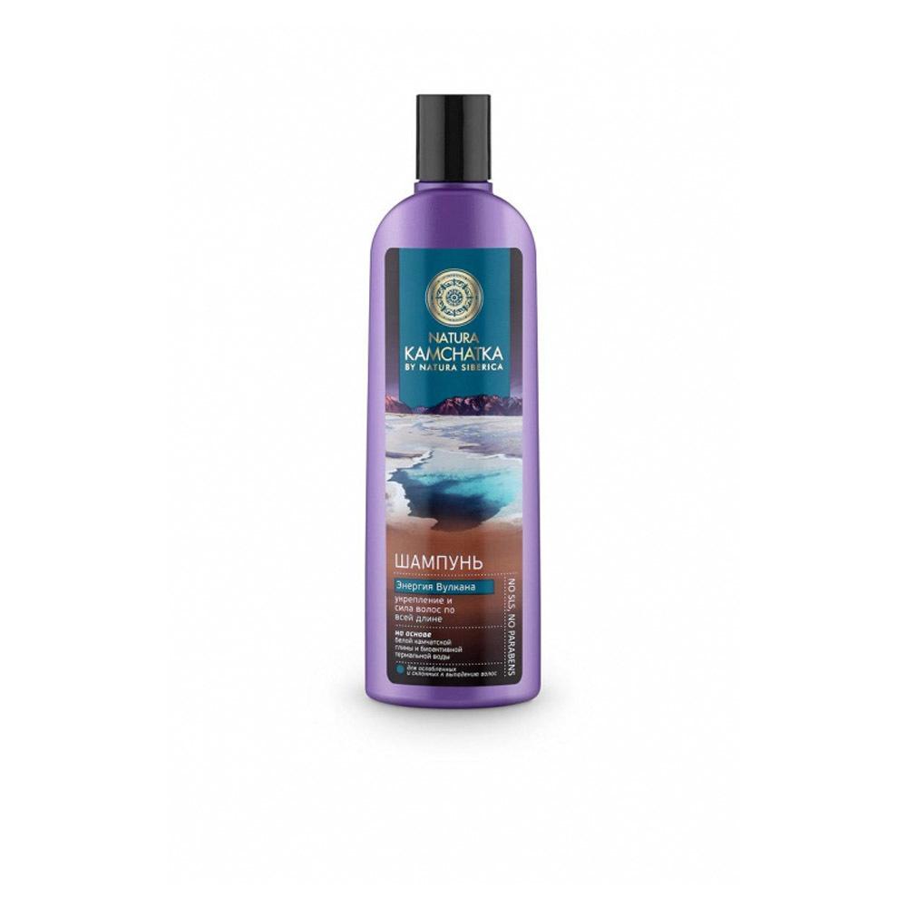Шампунь для волос Энергия вулкана укрепление и сила волос Natura Kamchatka