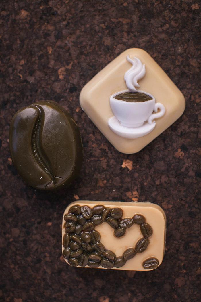 Мыло Зерно кофе. Формы для мыловарения