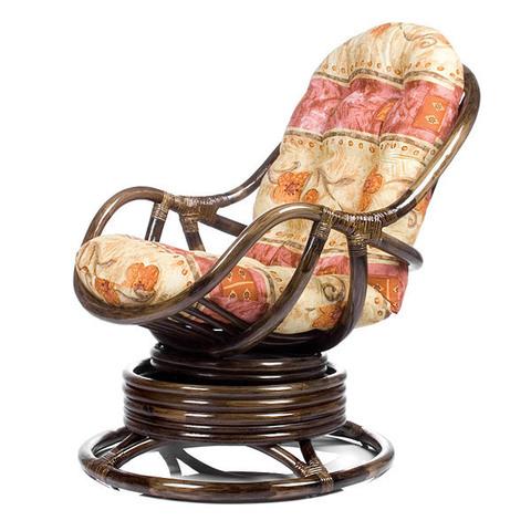 Кресло-качалка KARA (004.002) с подушкой орех