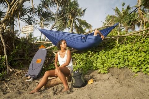 Отдыхаем в Таиланде. Сладкий сон в гамаке.