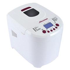 Хлебопечь электрическая 650 Вт, 12 программ АКСИНЬЯ КС-5500 белая с бордовым