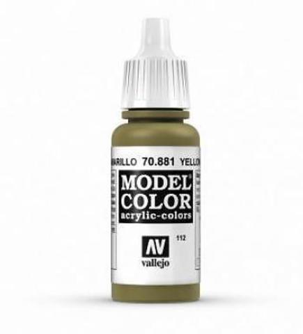 Model Color Yellow Green (Verde Amarillo) 17 ml.