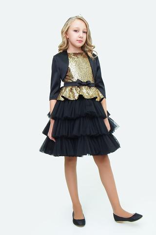 Платье детское + болеро (артикул 2Н114-1)