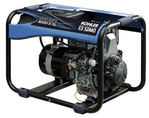 Кожух для дизельного генератора SDMO Diesel 6000 E XL C (5000 Вт)