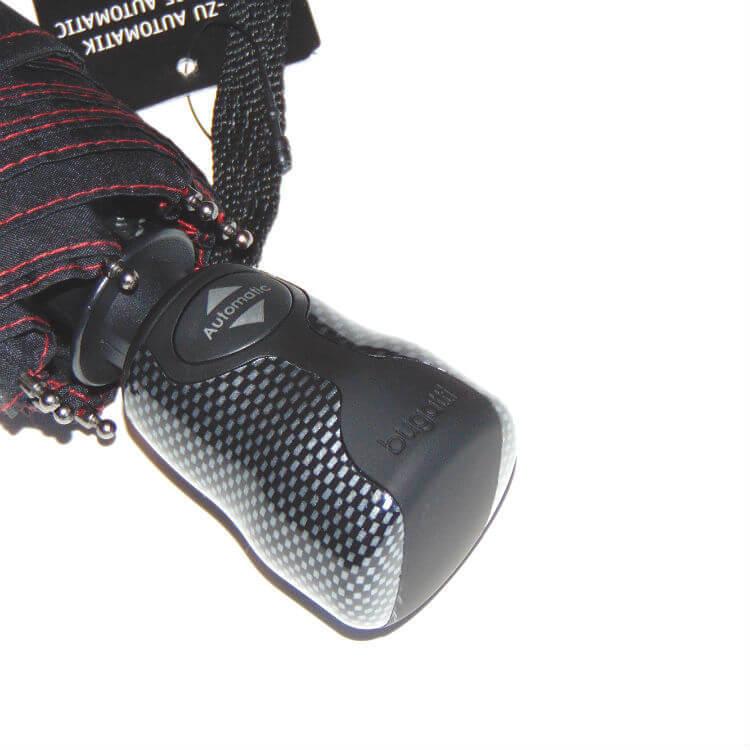 Зонт складной Bugatti 74666-Gran Turismo Carbon Nero