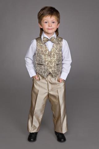 Нарядные брюки для мальчика на утренник