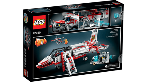 LEGO Technic: Пожарный самолет 42040 — Fire Plane — Лего Техник