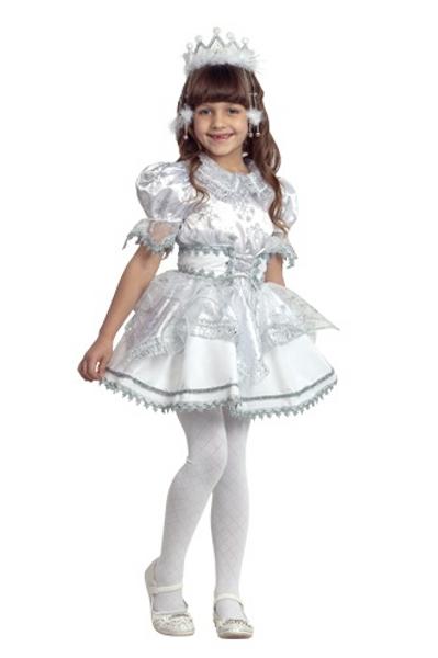 Карнавальный костюм Снежинка детский