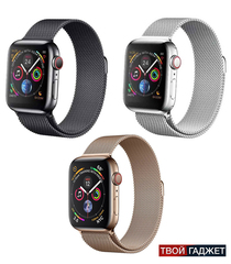Часы Smart Watch IWO 7 с миланским сетчатым браслетом + доп. ремешок