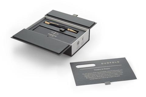 Шариковая ручка Parker Duofold Classic Black GT123