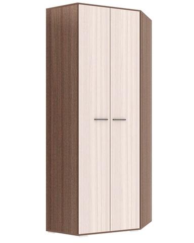 Шкаф угловой  ИТАЛИЯ ШУ-800 ясень шимо темный / ясень шимо светлый