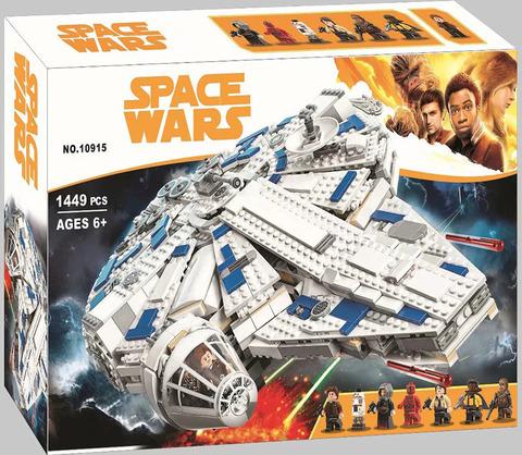 Конструктор Space Wars 10915 Сокол Тысячелетия на Дуге Кесселя