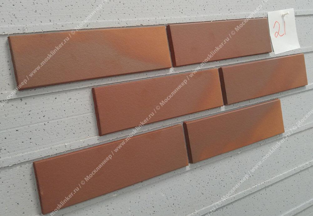 ABC - Borkum, glatt, 240х71х10, NF - Клинкерная плитка для фасада и внутренней отделки
